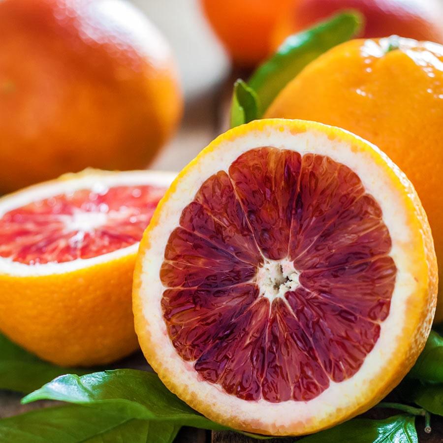 Апельсин с красной мякотью сладкий